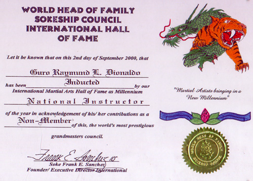 World Head of Family Sokeship Council